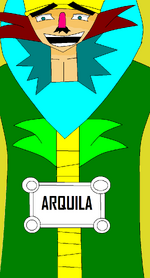 Rostro de Arquila