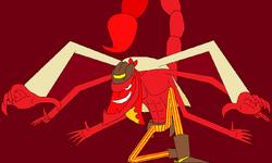 Escorpion rojo