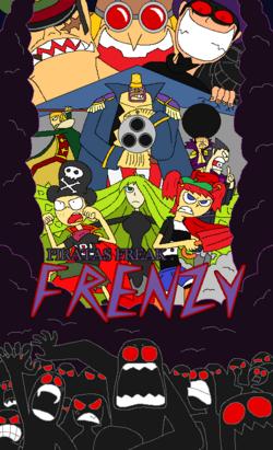 Piratas Freak Frenzy portada