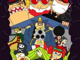 Saga de Grand Battle Land/Piratas Freak: Frenzy