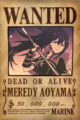 Meredy wanted