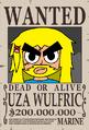 Uza Wulfric Wanted