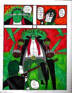 Azrael vs Cara de Jade