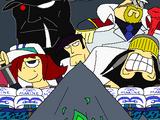 Saga de la Gran Guerra de Jade/Arco de Missile Bullseye