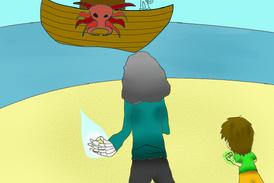 La llegada de los piratas