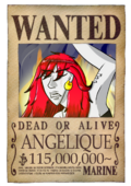Wanted Angélique post