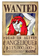 Wanted Angélique post
