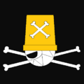 Piratas Bucket portrait
