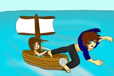 Shenler y Maito zarpan