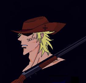 Kane con escopeta