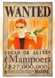 Wanted Mampoer