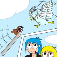 Big Bird vs Cyn