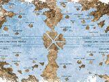 Mapa Islas Y Lugares de las Aventuras de Shibo