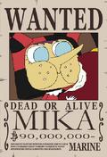 Mika recompensa