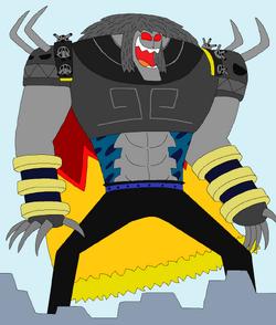 Terracota Hombre-Arma