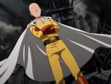 Saitamas Erscheinung Anime