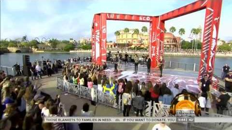 One Direction - Night Changes live at the Today Show 17 11 2014