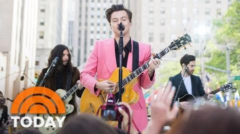 Harry Styles Perform 'Carolina' Live On The Plaza TODAY-0