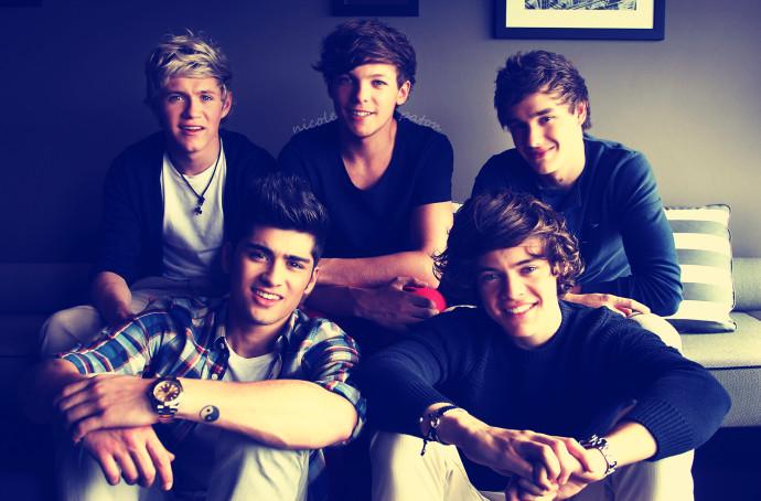 One Direction Photogarph Wallpaper Desktop 690x454