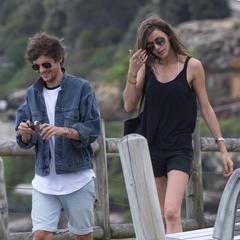 Last public outing before first breakup. Bondi Beach, Australia. February 13, 2015.