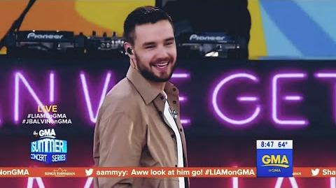 Liam Payne《Strip That Down》Live GMA Summer Concert 2018