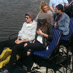 On a double date with Zayn and Perrie in September 2014