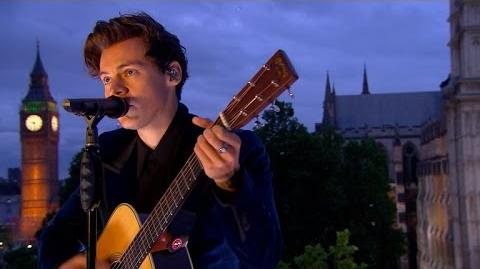 Harry Styles Two Ghosts - London Performance