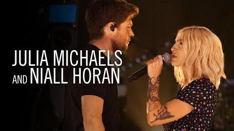Julia Michaels & Niall Horan What a Time