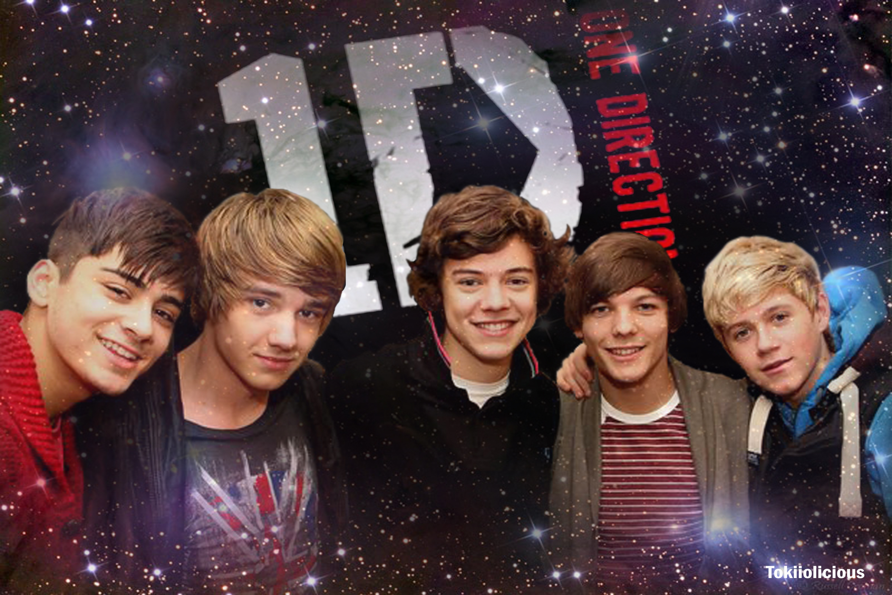 One Direction Wallpaper By Tokiiolicious D4cwnmb