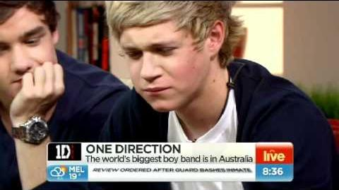 Niall from 1D tries vegemite toast