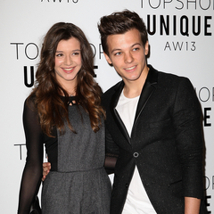 Louis and Eleanor attend London Fashion Week in February 2013