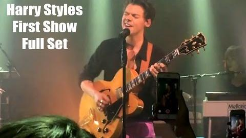 Harry Styles LIVE Secret Show London 13th May 2017