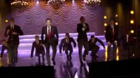 GLEE - Live While We're Young (Full Performance) (Official Music Video) HD