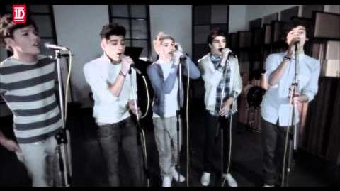 One Direction - One Thing (Acoustic Video)