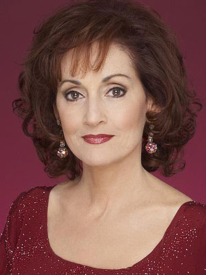 Robin Strasser as Laura Hayes (image is for educational purposes only)