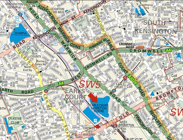 Earls Court Map Image   Earls Court Map. | One Minute Ago Wiki | FANDOM powered  Earls Court Map