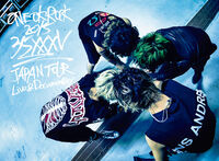 LIVE DVD& Blu-ray ONE OK ROCK 2015 35xxxv JAPAN TOUR LIVE&DOCUMENTARY cover