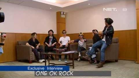 BREAKOUT Exclusive Interview ONE OK ROCK with Boy William