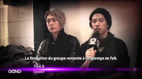 INSIDE - ONE OK ROCK - GONG France (2013)