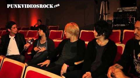 ONE OK ROCK talk documentary and John Feldman w Robert Herrera