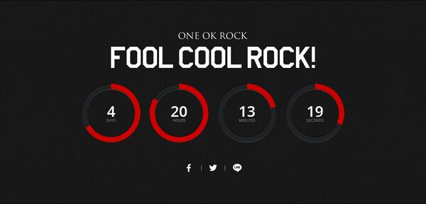 ONE OK ROCK - FOOL COOL ROCK!