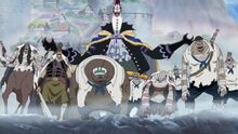 Zombies a marineford