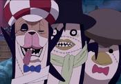 Trio Pingüí zombi