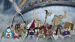 Pirates d'en Barbablanca a la plaça