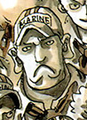 Catacombo com a Jove Marine