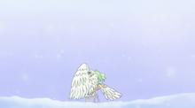 La Monet congelant el cos d'en Ruffy
