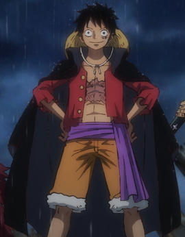 Monkey D. Ruffy Anime Post Timeskip Infobox