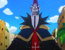 Gecko Moria Anime timeskip Infobox