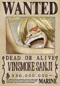 Sanji Recompensa Actual