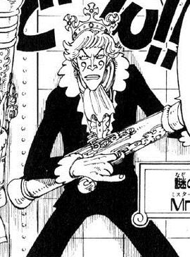 Mr. 9 Manga Pre Timeskip Infobox
